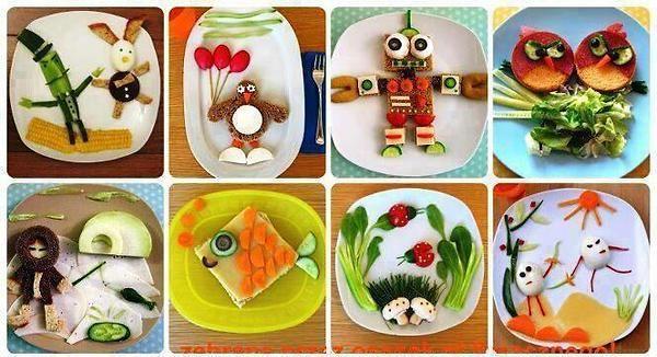 Пригответе декорация на храна
