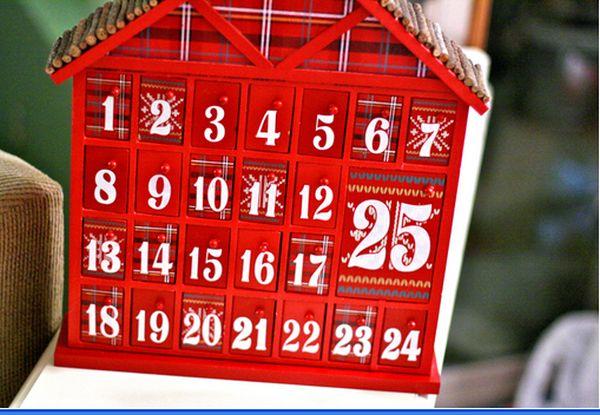 Направи си сам: Адвент календар за Коледа и Нова година (Идеи)
