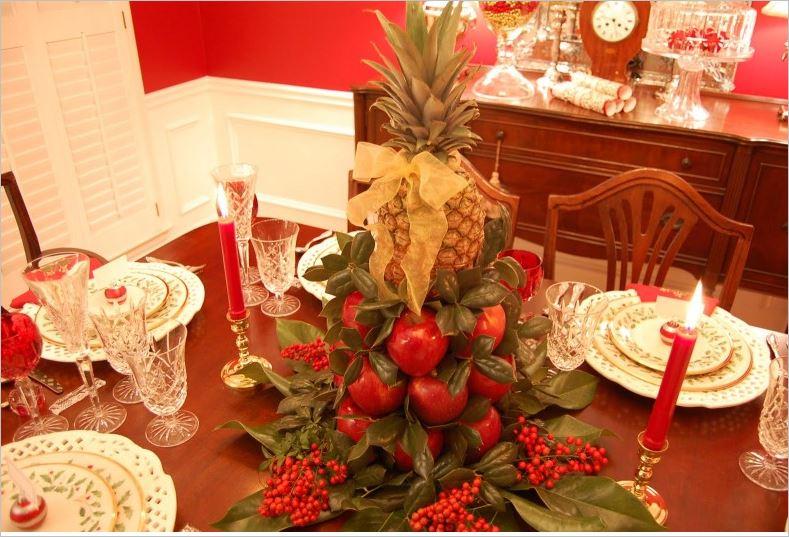Празнична украса за масата