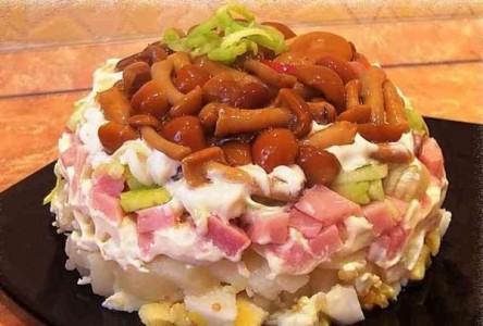 salata s marinovani gabi