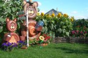 накрая и вашата наистина уникална декорация за градина ще блесне!