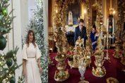 Как украсиха за Коледа в Бъкингамския дворец и Белия дом