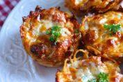 Рецепта за кошничка от спагети