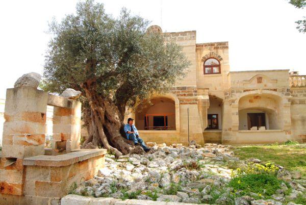Домът на Ал Бано Каризи в Челино Сан Марко, Пулия, Южна Италия