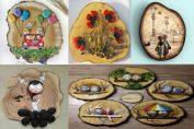 Направи си сам: Пано от рисувани камъни върху дърво