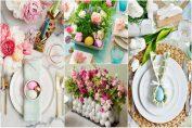Идеи за украсяване на празничната трапеза за Великден