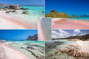 Къде се намират розовите плажове в Европа